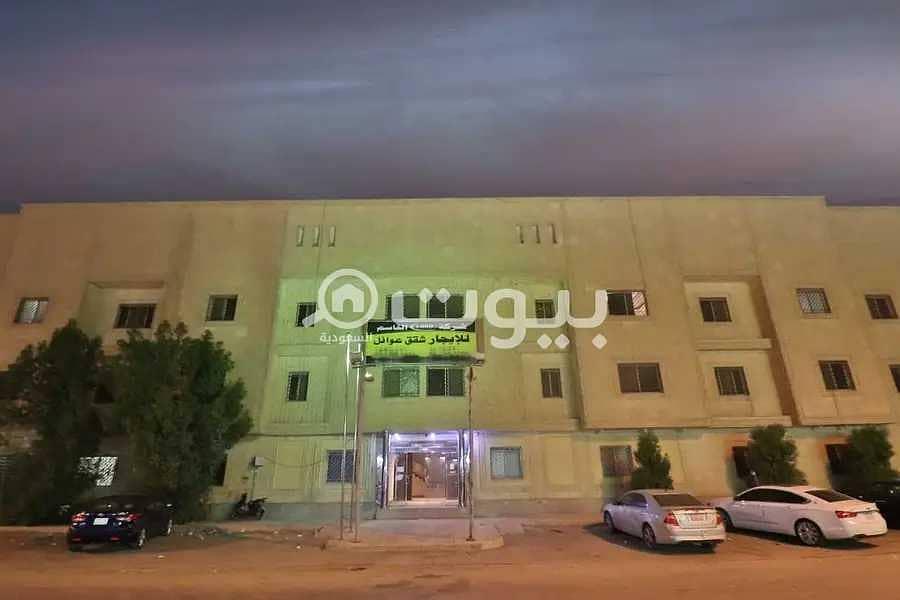 شقتين للإيجار في الملك فيصل، شرق الرياض