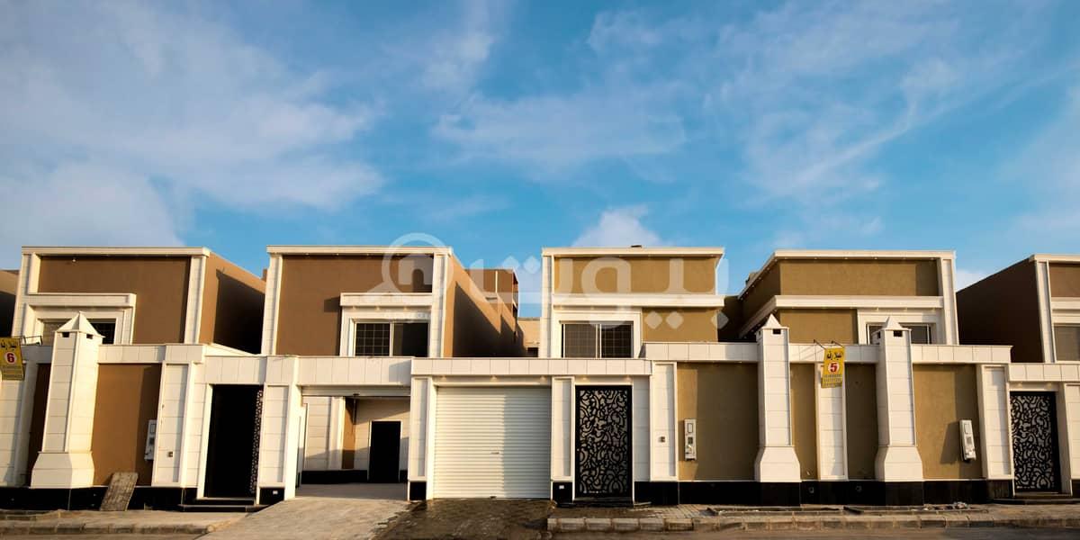 Modern duplex villa for sale model 3 in Okaz district, south of Riyadh