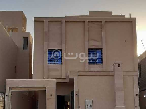 Internal Staircase Villa And Luxury Apartment For Sale In Okaz, South Riyadh