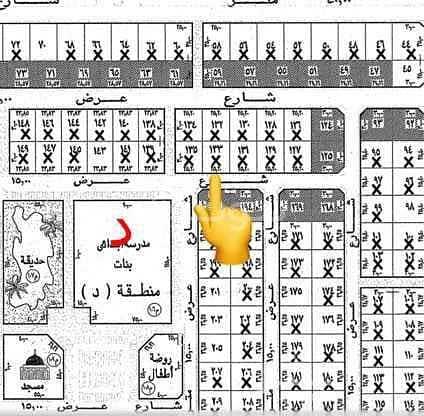 Half land for sale in Alwurud 2nd Al-Sharqi in Al Hofuf
