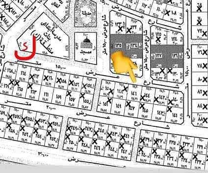 Residential land for sale in Alwurud 3rd Al Gharbi, Al Hofuf