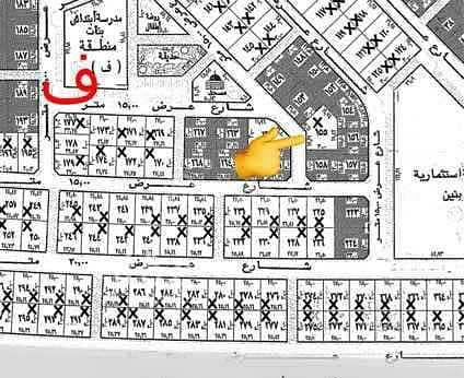 Land for sale in Alwurud 3rd Al Gharbi district in Al Hofuf