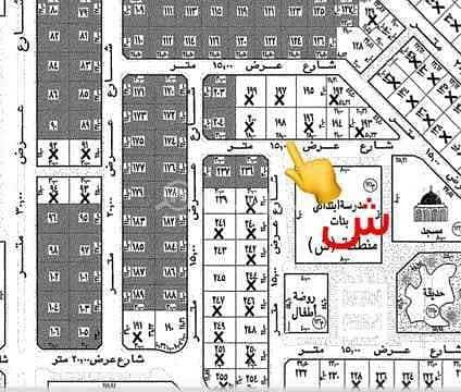 Half land for sale in Alwurud 2nd Al-Sharqi district in Al Hofuf