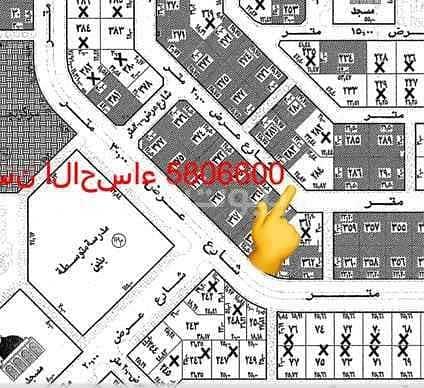 Residential land for sale in Alwurud 2nd, Al Hofuf, Al Ahsa,