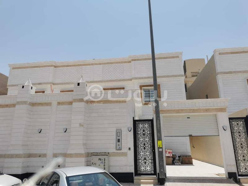 Internal Staircase Villa For Sale In Al Ghroob Neighborhood, Tuwaiq, West Riyadh