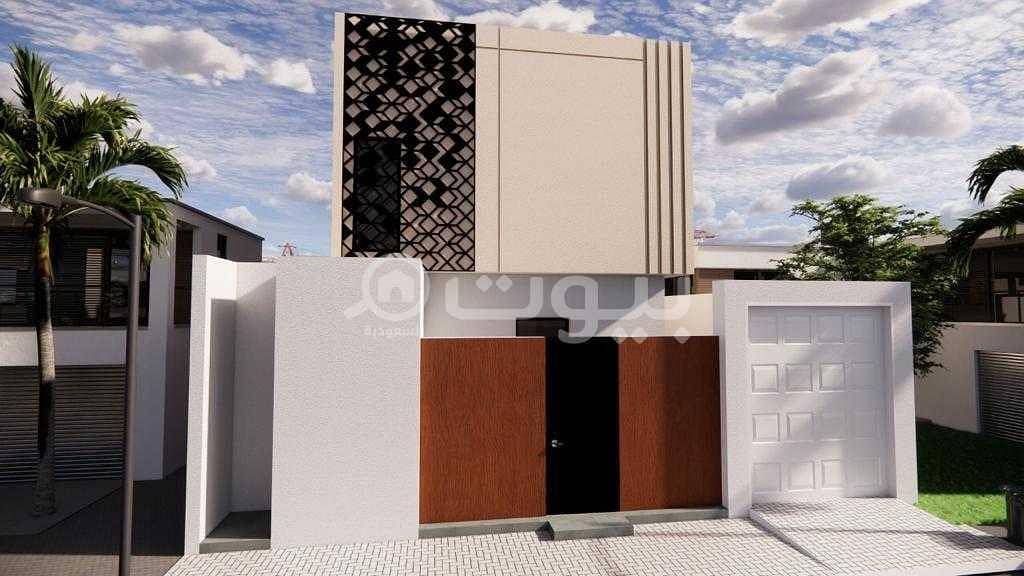 Modern villa for sale in Al Yasmin, North Riyadh