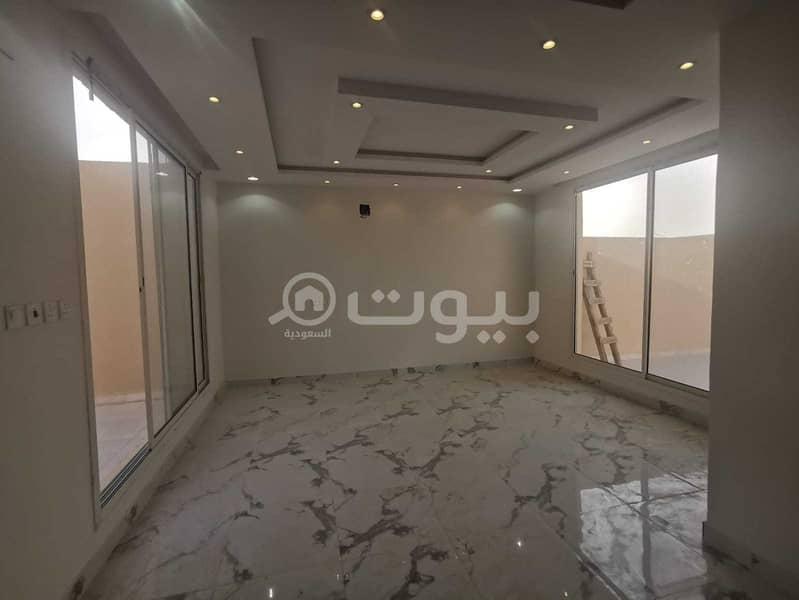 Internal Staircase Villa And Apartment For Sale In Al Ghroob Neighborhood, Tuwaiq, West Riyadh