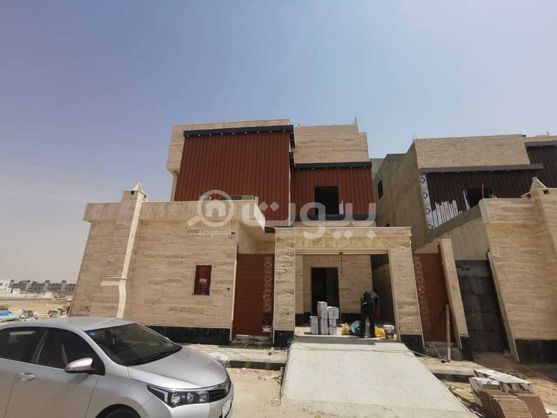 Distinctive Villa with Staircase for sale in Al Mousa, West of Riyadh