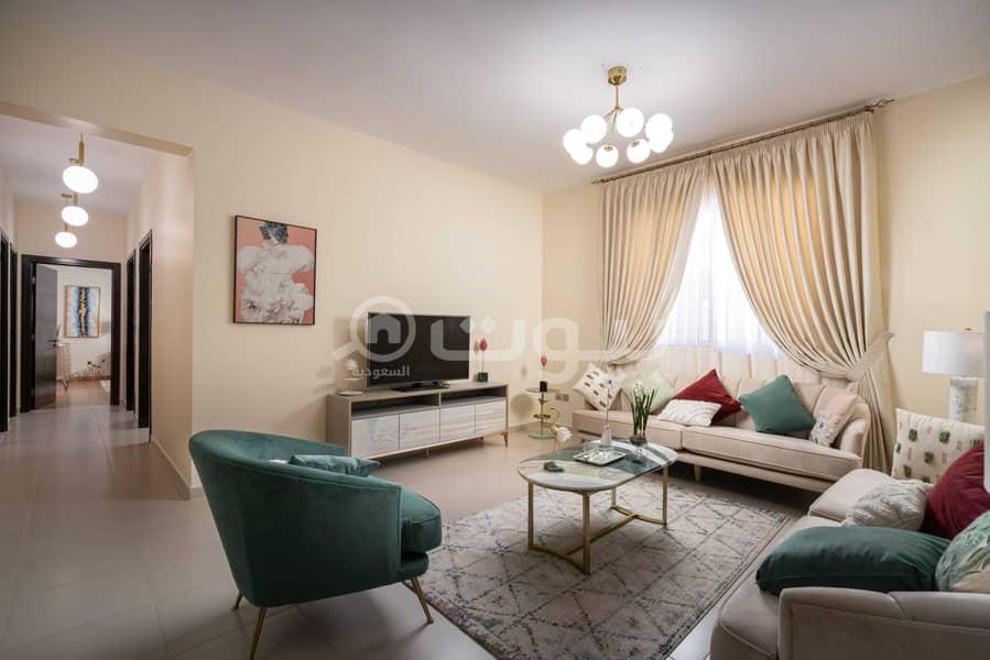 3 BR apartment in Manazel Qurtobah 1 for sale in Qurtubah district, east of Riyadh