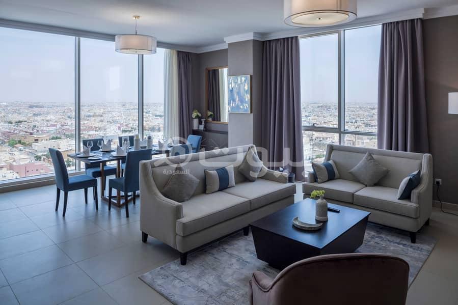 شقة بنتهاوس للبيع في برج رافال ريزيدنس اسكوت عليا بحي الصحافة، شمال الرياض