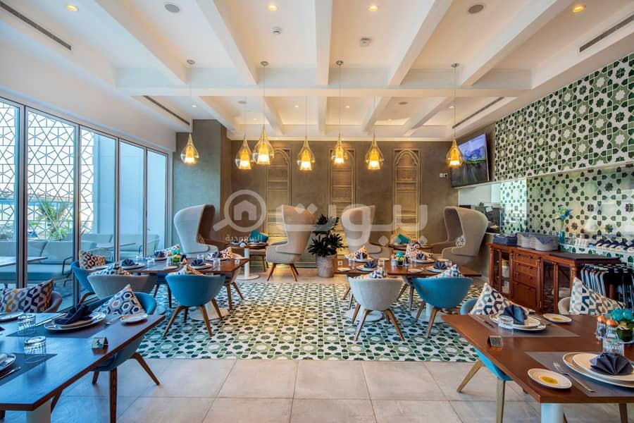 شقة بغرفتين نوم للبيع في الصحافة، شمال الرياض   برج رافال ريزيدنس اسكوت عليا
