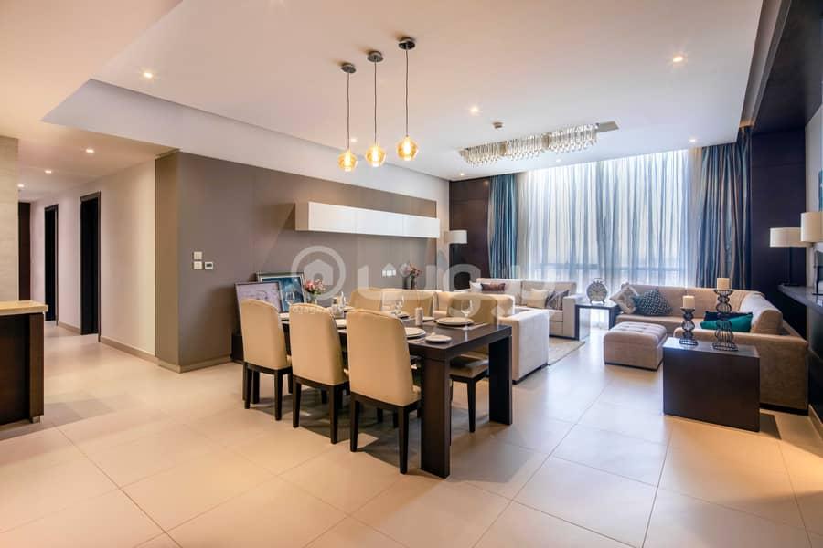 Apartment for sale in Al Sahafah, North Riyadh | Rafal Residence Ascott Olaya