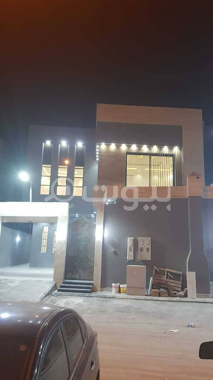 3 villas with internal stairs and 2 apartments for sale in Rimal, East Riyadh