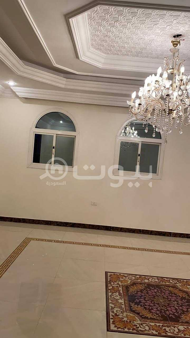Spacious family apartment for rent in Al-Rawdah district, north of Jeddah
