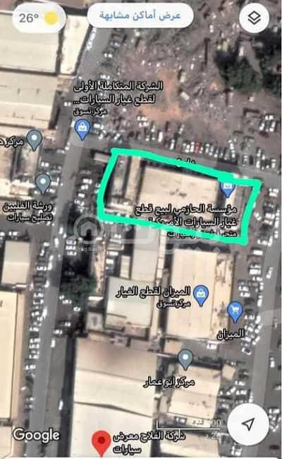 Commercial Land for Sale in Jeddah, Western Region - Commercial Land For Sale In Al Jawhara, South Jeddah