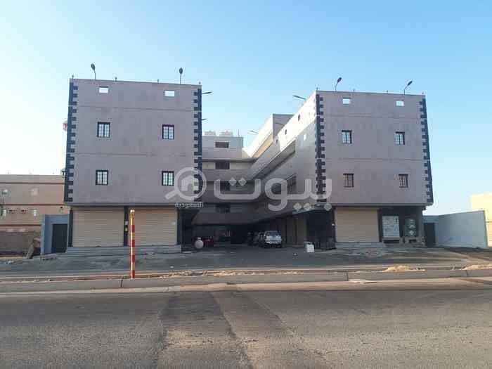 عمارة تجارية سكنية للبيع في حي طيبة شمال جدة