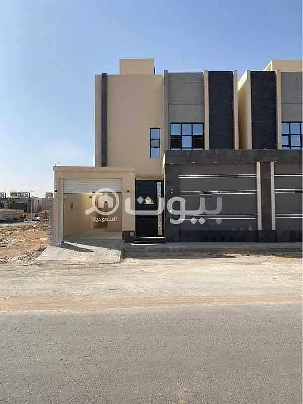 Villa for sale in Al Sail Al Kabeer Road, Al Mahdiyah district, west of Riyadh