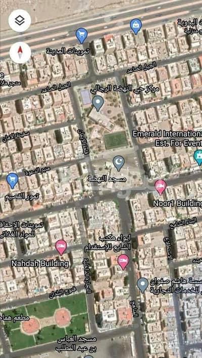 ارض سكنية  للبيع في جدة، المنطقة الغربية - للبيع أرض سكنية في النهضة، شمال جدة