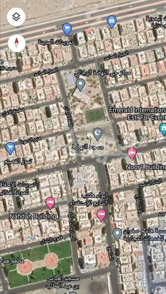 للبيع أرض سكنية في النهضة، شمال جدة