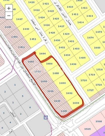 Commercial Land for Sale in Riyadh, Riyadh Region - Commercial land for sale in Al Khaleej district, east of Riyadh | No. 1685