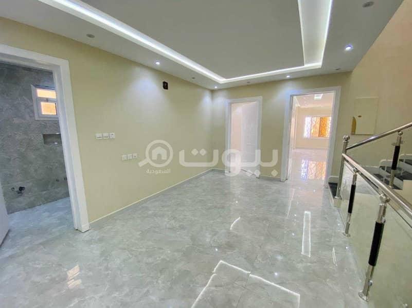 Duplex villa with internal stairs for sale in Al Rimal, East of Riyadh