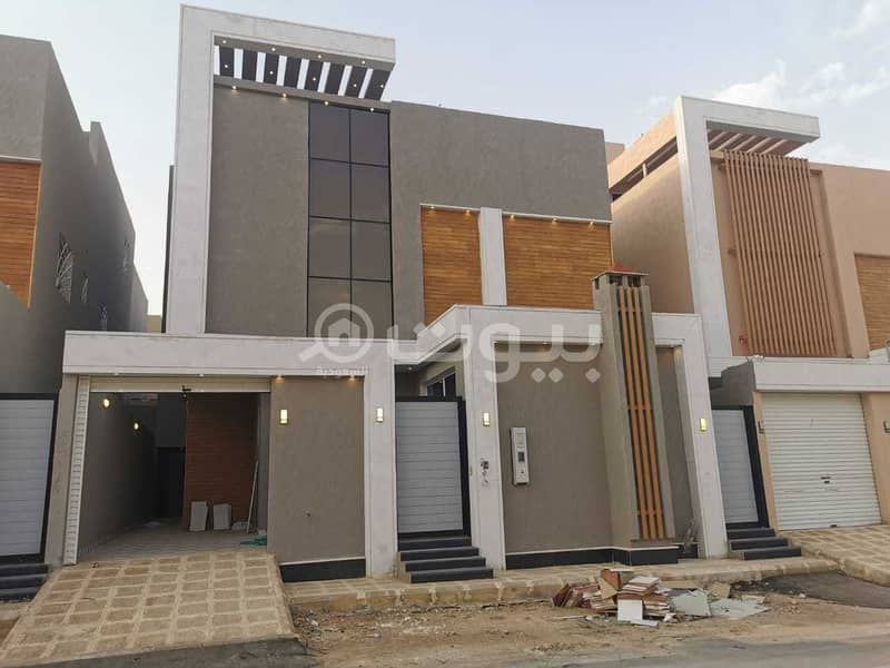 Villa with internal stairs without apartments for sale in Al Mousa, Tuwaiq, West Riyadh