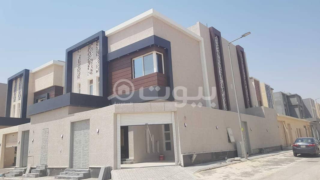 For Sale Corner Internal Staircase Villa And Apartment In Al Rimal, East Riyadh