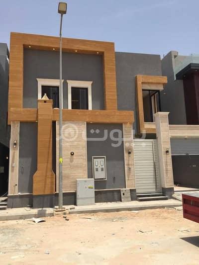 فیلا 5 غرف نوم للبيع في الرياض، منطقة الرياض - فيلا درج داخلي وشقة للبيع في الرمال، شرق الرياض