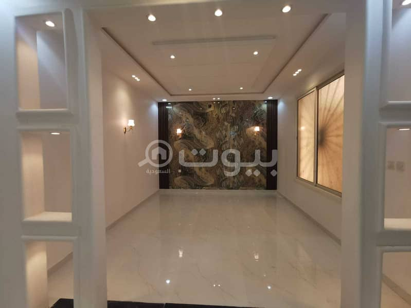 Villa with internal stairs for sale in Al-Mousa, west of Riyadh
