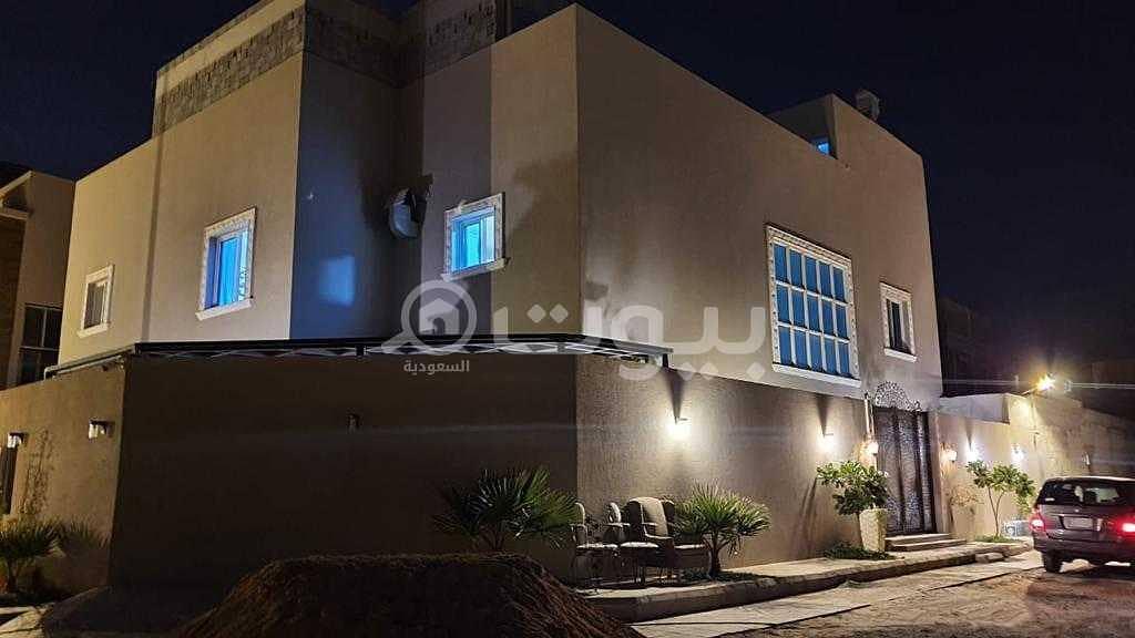 Luxury furnished villa for sale in Al Narjis, North Riyadh