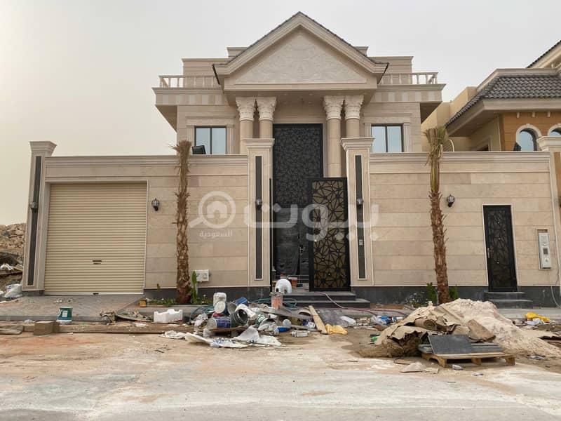 Internal Staircase Villa For Sale In Al Malqa, North Riyadh