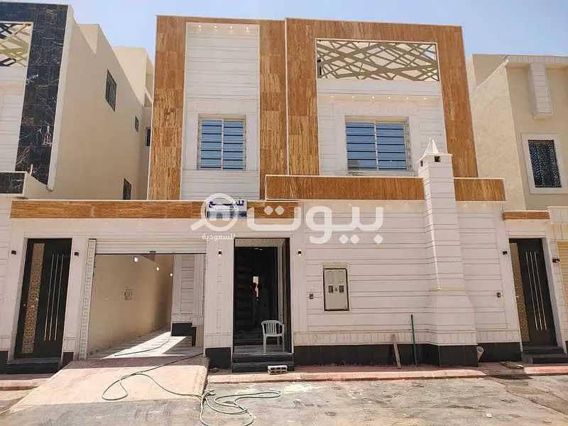 Villa for sale in Ribal scheme, Al Rimal district, east of Riyadh