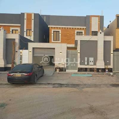 فیلا 5 غرف نوم للايجار في الرياض، منطقة الرياض - فيلا   درج صالة للإيجار في حي الرمال، شرق الرياض