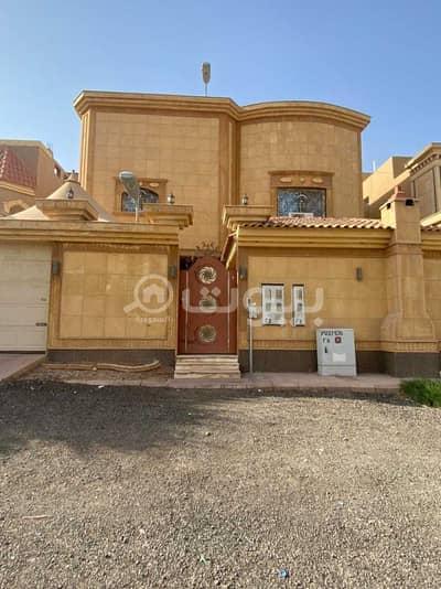 5 Bedroom Villa for Sale in Riyadh, Riyadh Region - Villa for sale in Dhahrat Laban district, west of Riyadh | with 2 apartments