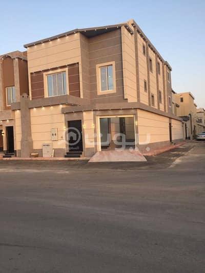 5 Bedroom Villa for Sale in Riyadh, Riyadh Region - Villa with internal stairs and an apartment for sale in Al Rimal neighborhood, east of Riyadh