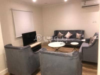 2 Bedroom Flat for Rent in Riyadh, Riyadh Region - 2 BR fully furnished apartment for rent in the center of Al Sulimaniyah, North Riyadh