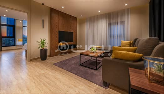 شقة فندقية 1 غرفة نوم للايجار في الرياض، منطقة الرياض - شقق عصرية مفروشة للإيجار - ذا ريزيدنس العليا، شمال الرياض