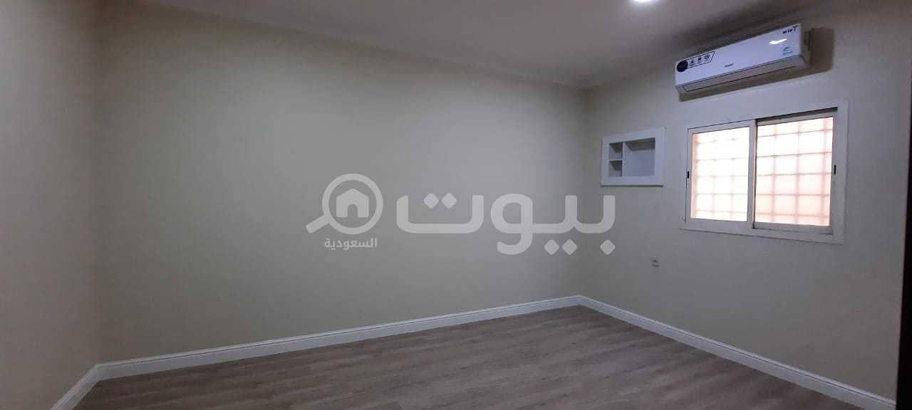 For rent an apartment for families in Al Aqiq, North Riyadh