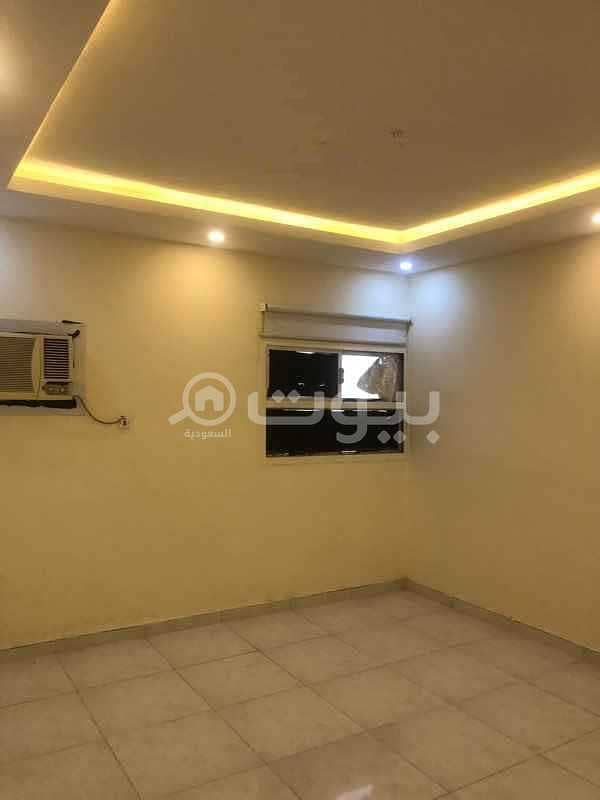 Family apartment for rent in Al Wurud district, north of Riyadh