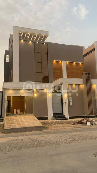 6 Bedroom Villa for Sale in Riyadh, Riyadh Region - Internal Staircase Villa And Roof For Sale In Al Mousa, Tuwaiq, West Riyadh