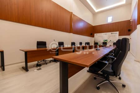 مكتب  للايجار في الرياض، منطقة الرياض - مكاتب مجهزة بالكامل للإيجار في حي الملك فهد، شمال الرياض