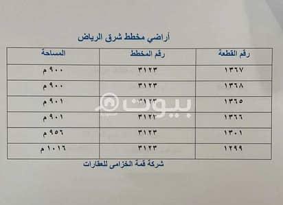 Residential Land for Sale in Riyadh, Riyadh Region - Residential Lands For Sale In Al Sharq, East Riyadh