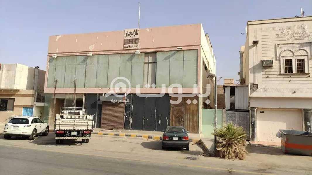 عمارة تجارية | 500م2 للبيع بحي السويدي، غرب الرياض
