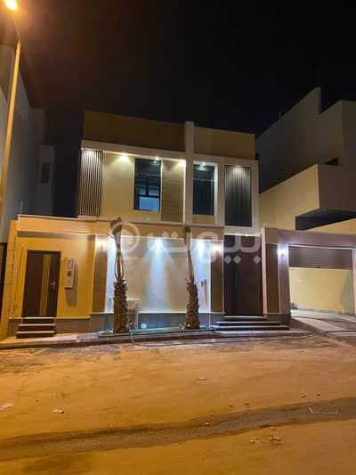 فیلا 4 غرف نوم للبيع في الرياض، منطقة الرياض - فيلا درج صالة جديدة للبيع في حطين، شمال الرياض