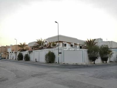 Villa for Sale in Riyadh, Riyadh Region - Corner villa for sale in Al Rawdah neighborhood, east of Riyadh