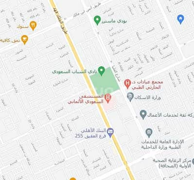 Commercial Land for Sale in Riyadh, Riyadh Region - For Sale Commercial Land In Al Sahafah, North Riyadh