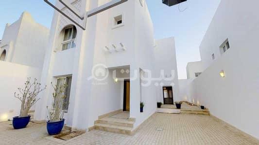 5 Bedroom Villa for Sale in Riyadh, Riyadh Region - For sale corner villa in Al Yasmin district, north of Riyadh