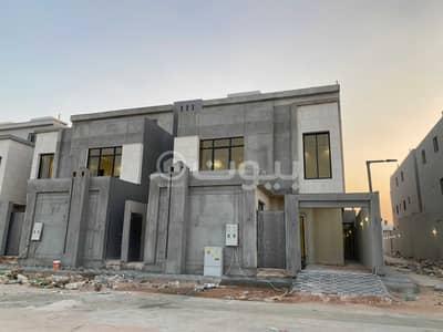 6 Bedroom Villa for Sale in Riyadh, Riyadh Region - Corner villa for sale in Al-Rimal Tanal scheme, east Riyadh
