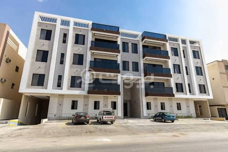 4 Bedroom Apartment for Sale in Riyadh, Riyadh Region - Luxurious ownership apartment in Makeen 27 in Al Yasmin district, north of Riyadh