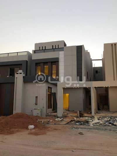 5 Bedroom Villa for Sale in Riyadh, Riyadh Region - Modern Internal Staircase Villa For Sale In Al Rimal, East Riyadh